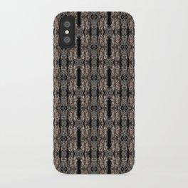 Pine Bark Pattern by Debra Cortese Design iPhone Case