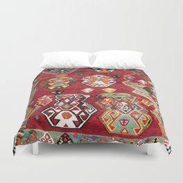 Luri Fars Southwest Persian Kilim Print Duvet Cover