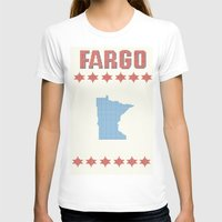 fargo T-shirts featuring Fargo Cross Stitch by Cameron Chapman