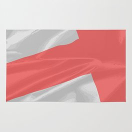 Silk Flag of Saint George Rug