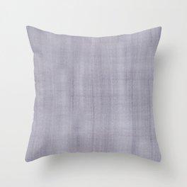 Purple Dry Brush Strokes Texture Throw Pillow