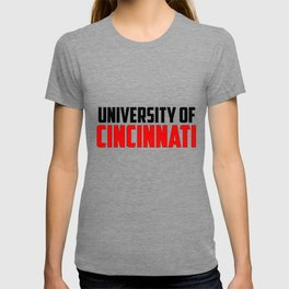 U of Cincinnati, Ohio T-shirt