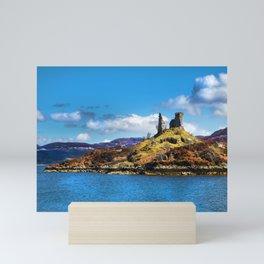 Castle Moil, Kyleakin. Mini Art Print