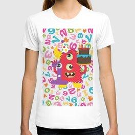 Birthday Monster 1st Birthday T-shirt