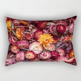 Everlasting Helichrysum Rectangular Pillow