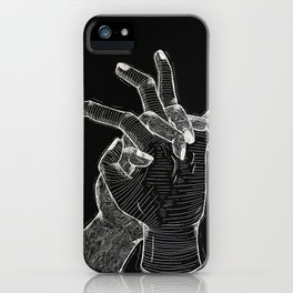 Thoughts on Death iPhone Case