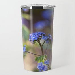 Siberian Bugloss - Great Forget-Me-Not Travel Mug