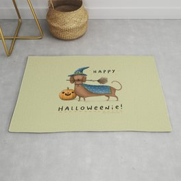 Happy Halloweenie! Rug