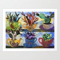 Cactus Art Art Print