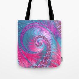 Cotton Candy Swirls Tote Bag