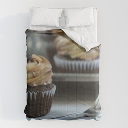 Beautiful Food by Conor Brown Comforters