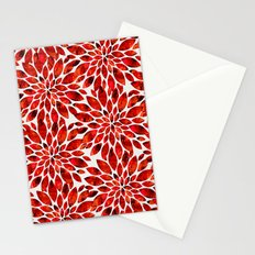 Poppy Petal Burst Stationery Cards