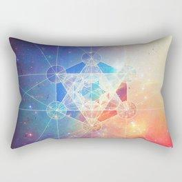 Box of the Universe Rectangular Pillow