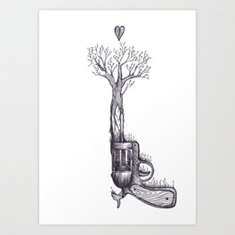 The Only Weapon I Will Ever Fire Art Print