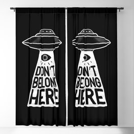 Beam Me Up Blackout Curtain
