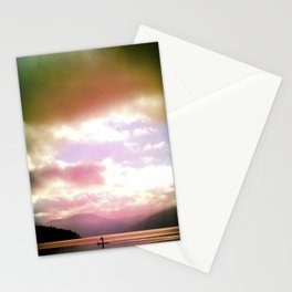 Paddling Home Stationery Cards