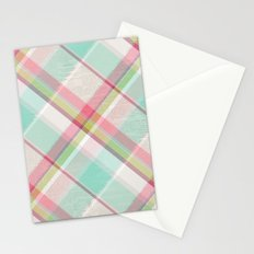 All in Plaid Stationery Cards
