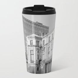 Ancient and modern architecture Travel Mug