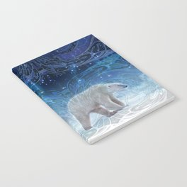Arctic Journey of Polar Bears Notebook