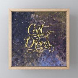 Court of Dreams Framed Mini Art Print