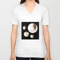 stanley kubrick V-neck T-shirts featuring Stanley  by colin arc