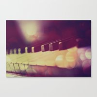 piano Canvas Prints featuring Piano by Jean-François Dupuis
