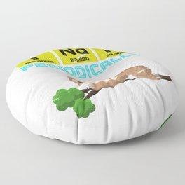 I Nap Periodically Floor Pillow