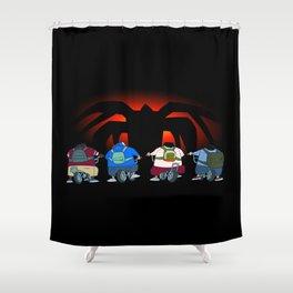 Mindflyer Shower Curtain