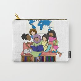 Read Together Stay Together Carry-All Pouch