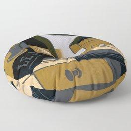 """Juan Gris """"Le moulin à café (Coffee Grinder)"""" Floor Pillow"""