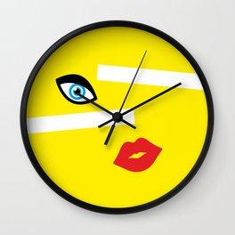 Vivid Beauty Wall Clock
