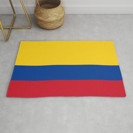 Colombia Flag Colombian Patriotic Rug