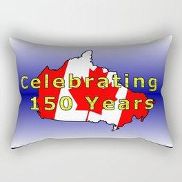 150th Birthday (Glitter) Rectangular Pillow