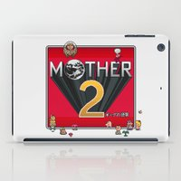 earthbound iPad Cases featuring Alternative Mother 2 / Earthbound Title Screen by Studio Momo╰༼ ಠ益ಠ ༽