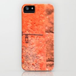 Childhood of humankind: Lock from the future iPhone Case