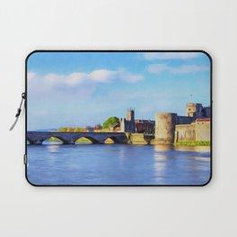 King Johns Castle and Thomond Bridge Laptop Sleeve