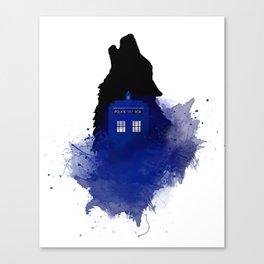 Dr.Who, Art, Design, Dr. Who Art, BadWolf, Bad Wolf Canvas Print