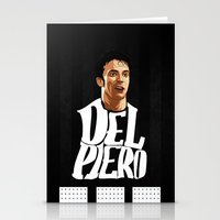 juventus Stationery Cards featuring Del Piero by Sport_Designs