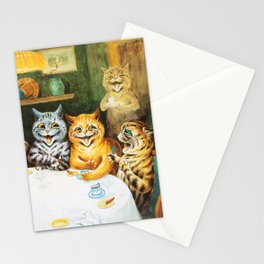 Kitty Happy Hour - Louis Wain's Cats Stationery Cards