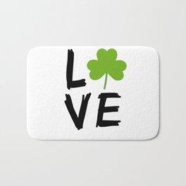 Love St Patricks Day Bath Mat