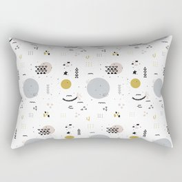 Minimal Pattern :: Color Shapes Rectangular Pillow