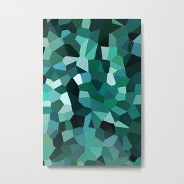 Crystal Camo Metal Print