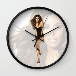 Eva Longoria Wall Clock