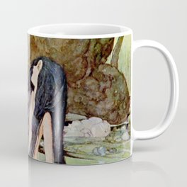 """The Marsh King's Daughter"" Fairy Art by Anne Anderson Coffee Mug"