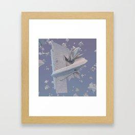 Letter Series: P Framed Art Print