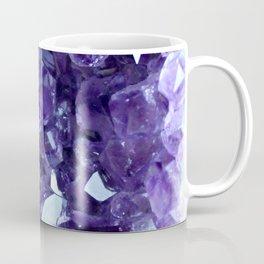 Raw Amethyst - Crystal Cluster Coffee Mug