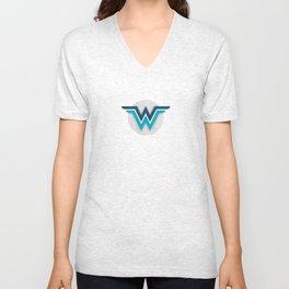 Wonder Widows Logo Unisex V-Neck