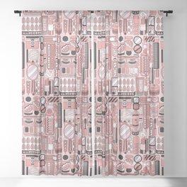 Beauty Routine Classy Sheer Curtain