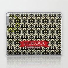 Sherlock Poster 1 Laptop & iPad Skin