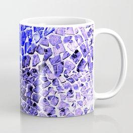 Street Floor Tiles Feeling Blue Tiger-Polka Dot...ish!_Xtreme Blue Edition Coffee Mug